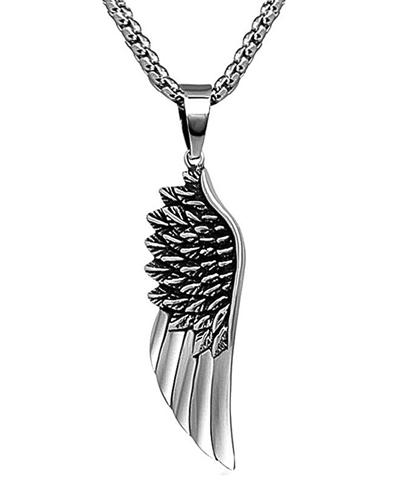 گردنبند طرح بال فرشته